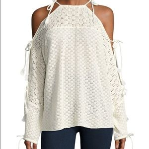 NWT See by Chloé cloud dancer cold shoulder